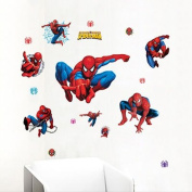 Gadfly- Spider-man Peel & Stick Nursery/baby Wall Sticker Decal
