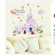 Gadfly-cartoon Castle Peel & Stick Nursery/baby Wall Sticker Decal