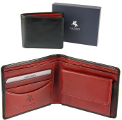 VISCONTI Boxed Mens Leather Wallet with 4 Card Slots Heritage Collection