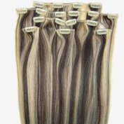Beauty Online Tape In Premium Remy Human Hair Extensions_20 Pieces Set_50g Weight Full Head_Straight - Colour