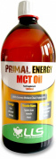 LLS Primal Energy MCT Oil | 1000ml Bottle | 100% Coconut Medium Chain Tryglycerides | Fast Efficient Energy Found Naturally in Coconut Oil | Increases Muscle Strength and Stamina During Exercise | Spares Lean Muscle Mass | Flavourless and Easy to Mix | ..