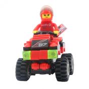 GranVela®,Wange Racing Car Series Mini Car 63pcs Set DIY Fun Building Blocks Super Fun Toy Gift Set