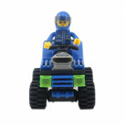GranVela®,Wange Racing Car Series Mini Car 71pcs Set DIY Fun Building Blocks Super Fun Toy Gift Set
