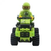 GranVela®,Wange Racing Car Series Mini Car 73pcs Set DIY Fun Building Blocks Super Fun Toy Gift Set