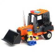 GranVela®,Wange Truck Series Track Car 92pcs Set DIY Fun Building Blocks Super Fun Toy Gift Set