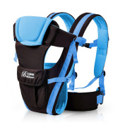 Baby Child Carrier Hipseat Backpack - Blue