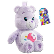 "Vivid Imaginations ""Care Bears Sweet Dreams Bear"" Plush Toy with DVD"