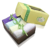 Bamboo Baby Washcloths (8 Pack) Soft Cloth Wipes New Baby Shower Registry Gifts