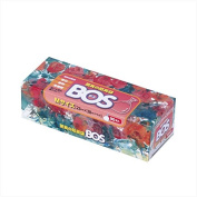 BOS, Disposable Nappy Bags Proven for Amazing Odour-sealing Performance (90 Bags) [Size:M, Colour:White]