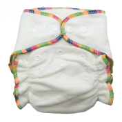Heavy Wetter Bamboo / Organic Cotton One Size Fitted Nappy