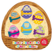 Easter Egg Basket with Board Books