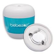 BebeZap Baby Portable UV Steriliser for Bottle, Soother, Teat - Kills 99.9% of germs, bacteria - Blue/White
