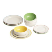 Plate/bowl 12 pack (IKEA)