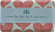 For The One I Love Bath Soap Rich Shea Butter Soap Birthday Christmas Valentine Gift-200g