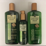 Thicker Fuller Hair Kit - SHAMPOO 355ml + CONDITIONER 355ml + SERUM 148ml