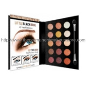 L.A. Colours Little Black Book of Eyeshadows ~ 15 Colour Eyeshadow Palette ~ Natural 73695 by Beauty 21 Cosmetics, Inc.