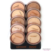 20 Face Powder Set (10 Different Shades) Made in EU WHOLESALE