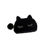SelfTek Protable Cute Cartoon Cat Cosmetic Makeup Storage Bag Toiletry Wash Case