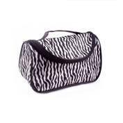 Winstory Zebra PatternTravel Womens Makeup Make Up Cosmetic Pouchs Zipper Toiletry Bags Fashion