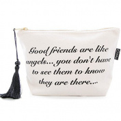 Make-up Bag 'Good Friends are like Angels' by Lovethelinks