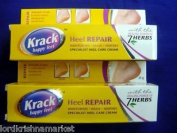 Krack Cream 100% Herbal Care Foot Cracked Healing Crack Foot Heel 25g X 2 = 50g