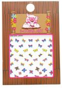 Piggy Paintpiggy Paint Butterfly Nail Art