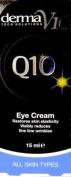 SIX PACKS of Derma V10 Q10 Tech Solutions Eye Cream 15ml