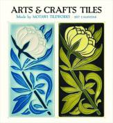 Arts & Crafts Tiles 2017 Wall Calendar