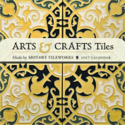 Arts & Crafts Tiles 2017 Mini Wall Calendar