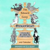 The Edward Gorey Practical Cats 2017 Mini Wall Calendar