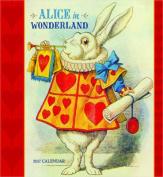 Alice in Wonderland 2017 Wall Calendar