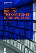 Bibliothekarisches Grundwissen [GER]