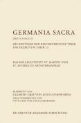Das Kollegiatstift St. Martin Und St. Severus Zu Munstermaifeld. Die Bistumer Der Kirchenprovinz Trier. Das Erzbistum Trier 12 [GER]