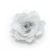 Meilliwish. Camellias Flower Hair Clip and Brooch Pin(A74)