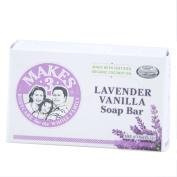 Makes 3 Organic Soap Bar, Lavender Vanilla, 120ml