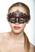 KAYSO INC Classic Venetian Laser Cut Masquerade Mask
