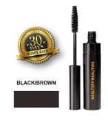 Beautify Beauties Eye Mascara (10ml) Gives You Natural Looking Lashes, Maintains for the Whole Day. Non irritating, No More Watery Eyes, this Mascara is Great for Sensitive Eyes, Fragrance-free - Black/Brown