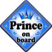 GEM JEWEL PRINCE Baby on Board Car Window Sign