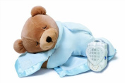 Prince Lionheart Original Slumber Bear with Silkie Blanket - Blue Colour