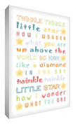 Feel Good Art Thick Solid Fronted Canvas Newborn Baby Gift