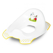 Moomin Family Baby Toilet WC Training Seat White