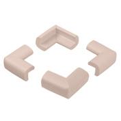 Masingo 4 Pcs Table Desk Edge Guard Soft Foam Protector Edge Corner Bumpers White