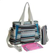 Paonies Fashion Mummy Shoulder Handbag Baby Nappy Nappy Changing Bag Set Travel Bag