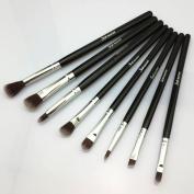 Make Up Brushes Eye Set - Eyeshadow Eyeliner Blending Concealer Kit - Pencil, Shader, Tapered, Definer - Vegan Synthetic Bristles, Apply Better Makeup & Make You Look Flawless!