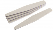 Star Naildesign & Cosmetics Trapezoidal File, White - 5 Piece