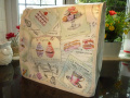Cupcake French Chic Patisserie PVC Food Mixer Cover KMix KitchenAid Andrew James Kenwood Patissier