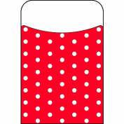 Trend Enterprises Polka Dots Red Terrific Pockets Novelty