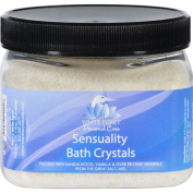 White Egret Sensuality Bath Crystals with Essential Oils-470ml Container