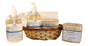 Clearly Natural Vitamin Unscented Soap Basket Bundle
