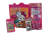 Hello Kitty Bath and Beauty Gift Set with Mini Chequered Tote Bag